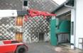 Mise en place d'une presse-plieuse dans un local avec un accès limité