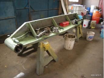 Révision d'une cisaille guillotine hydraulique