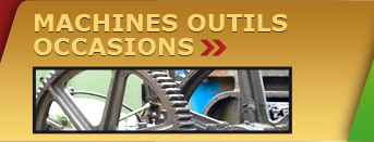 machines-outils d'occasion